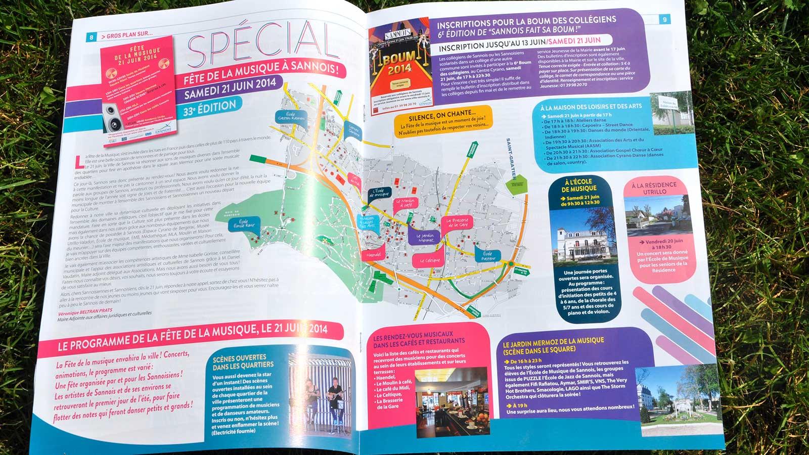 Magazine municipal «sannois mag»
