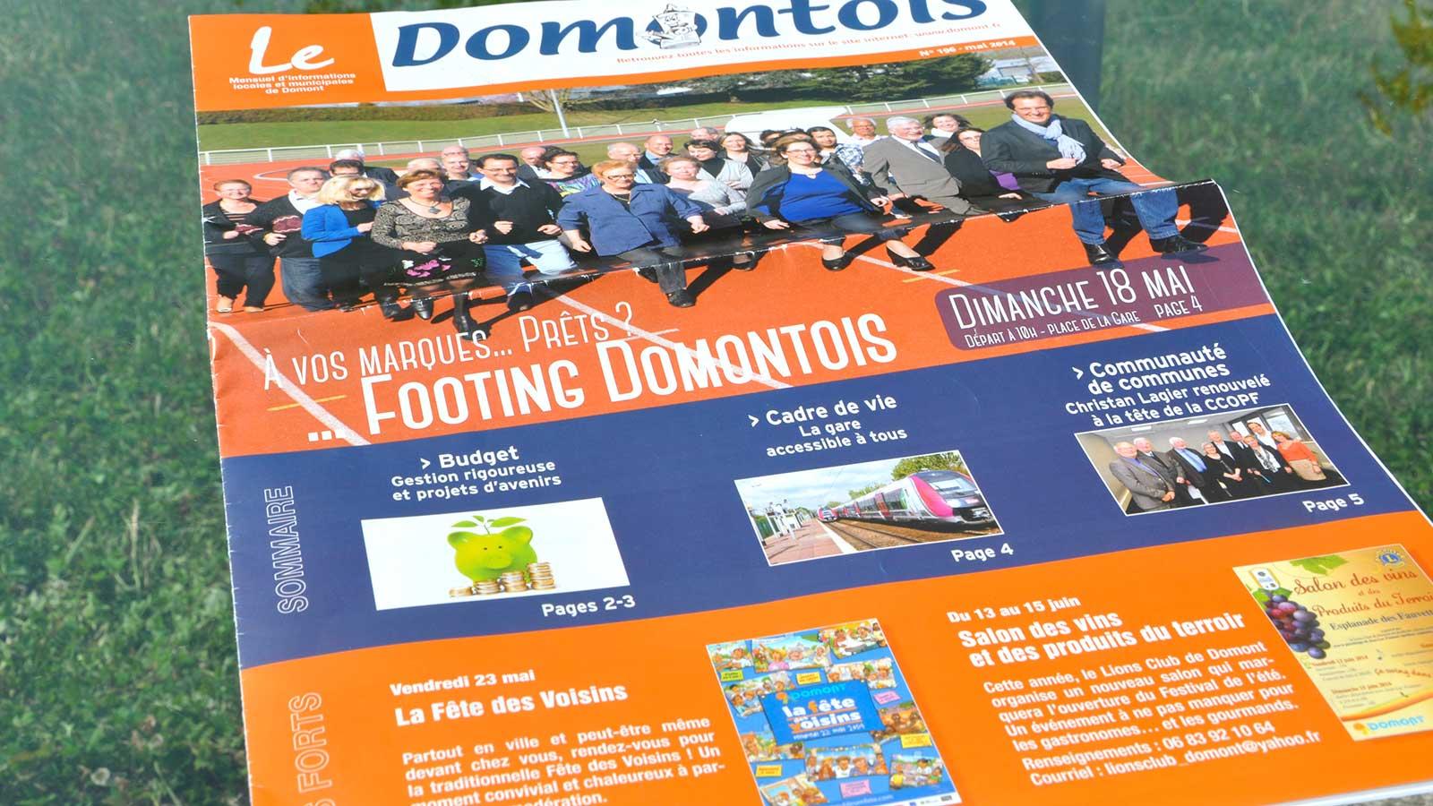 Magazine municipal «Le Domontois»