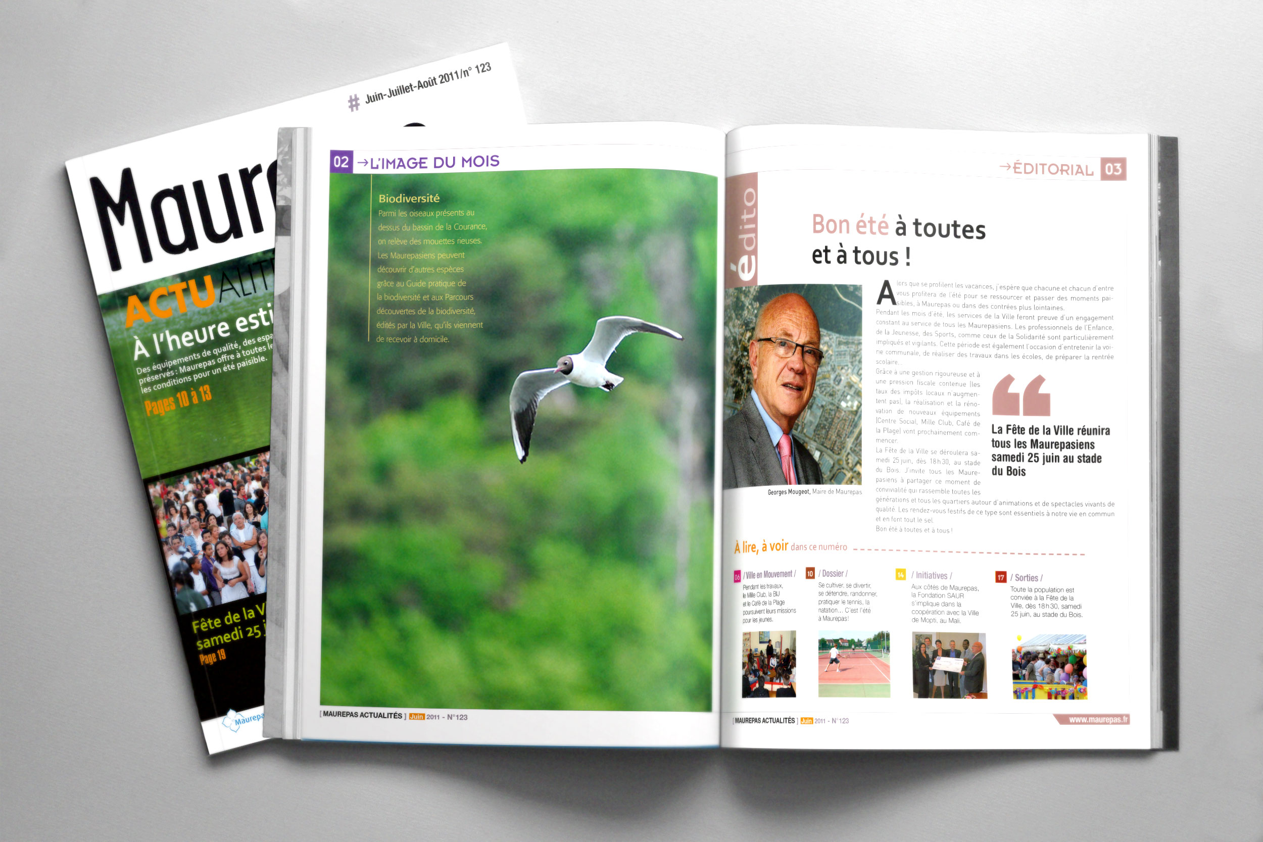Magazine municipal «Maurepas»