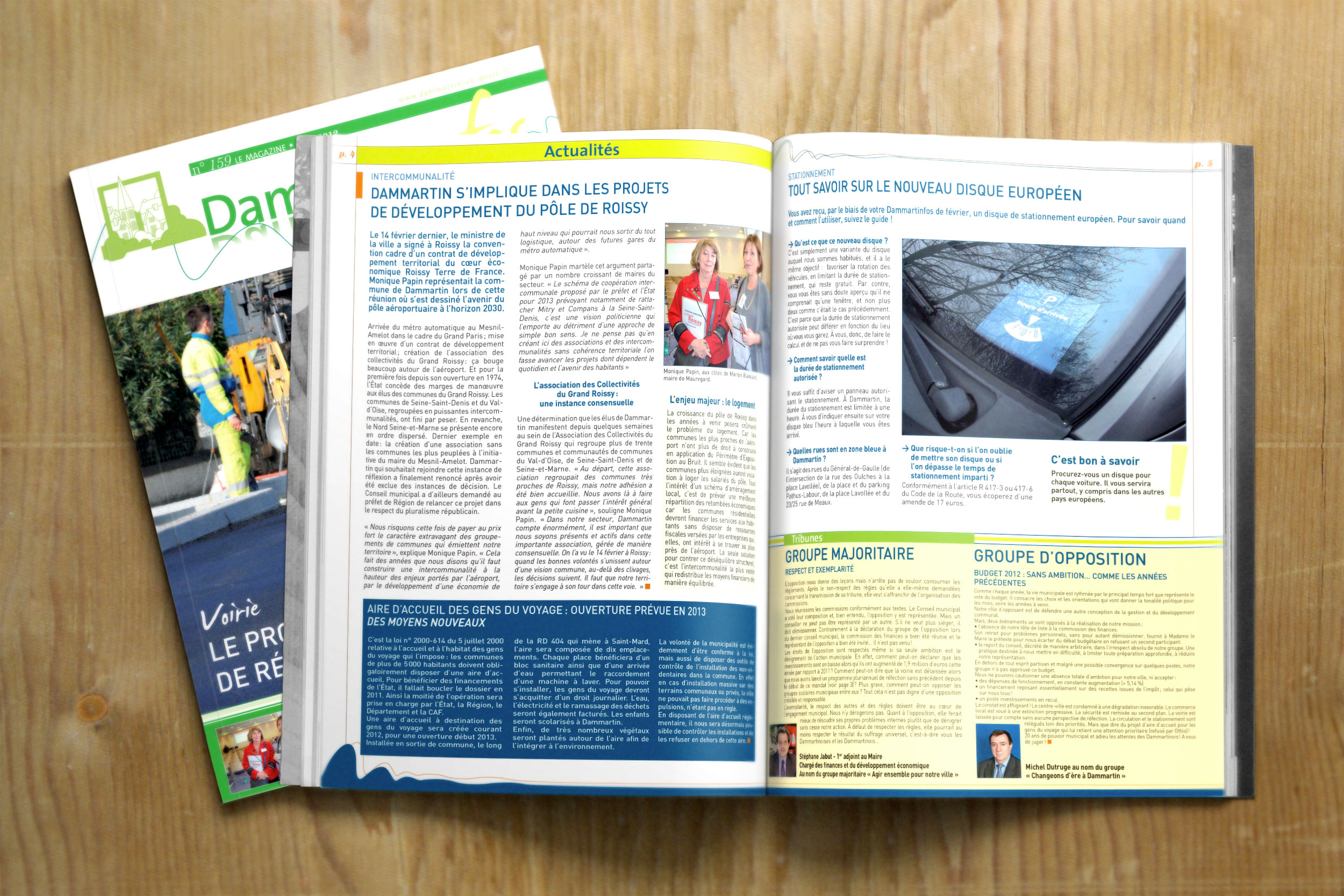 Magazine municipal «Dammartinfos»